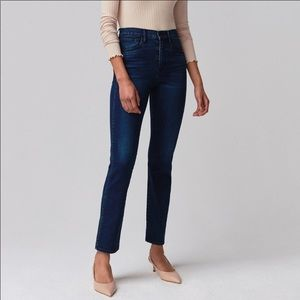 NWT 3x1 Stevie Straight High Rise Slim Jeans 3